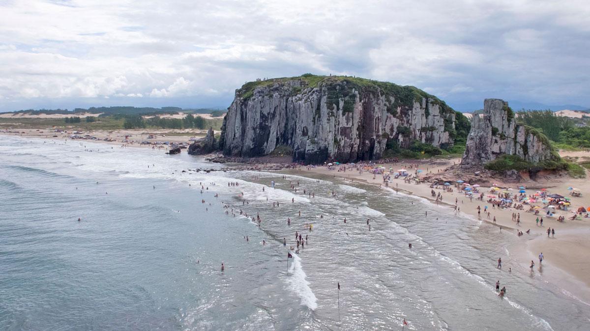 Brésil Torres plage praia da guarita