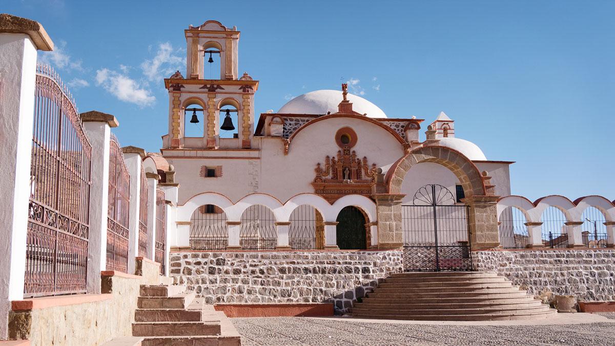 Bolivie Potosi Église San Benito