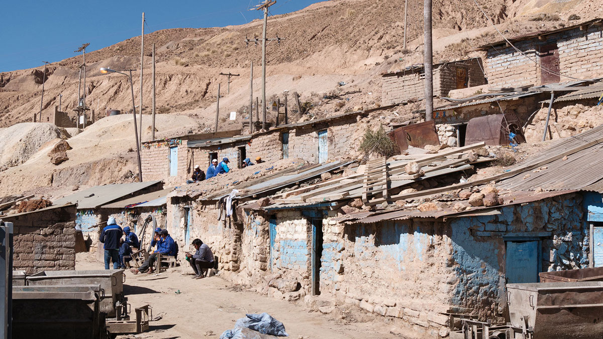 Potosi Cerro Rico Baraquements Mineurs