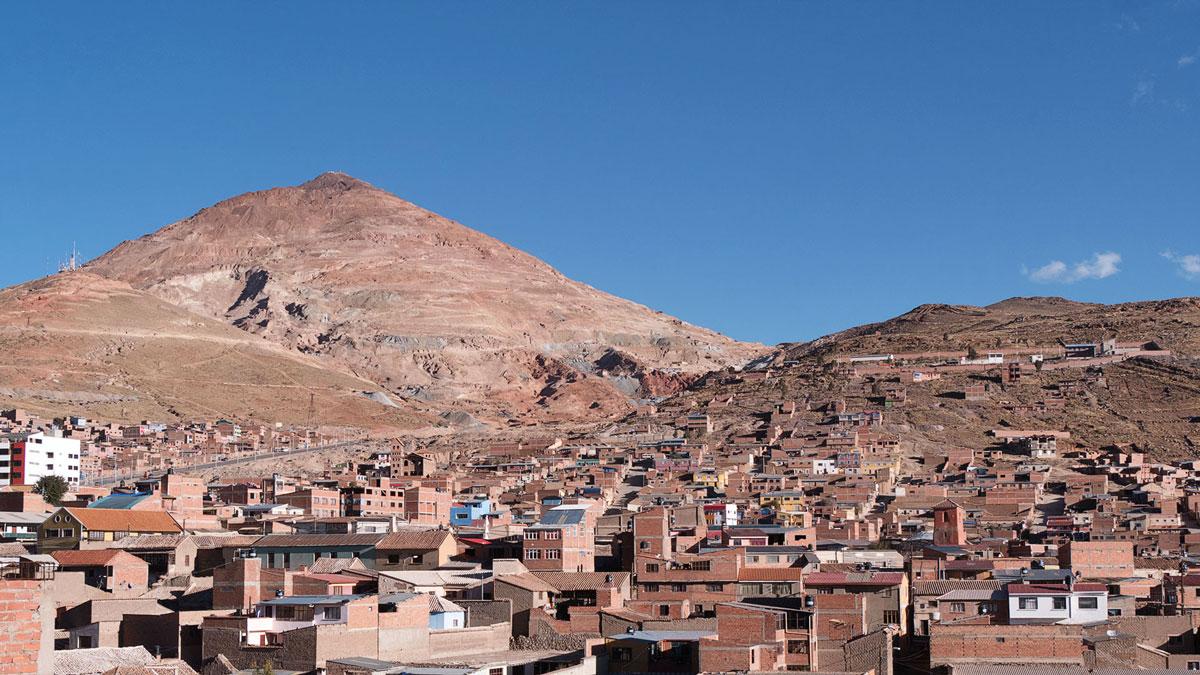 Bolivie Potosi Cerro Rico