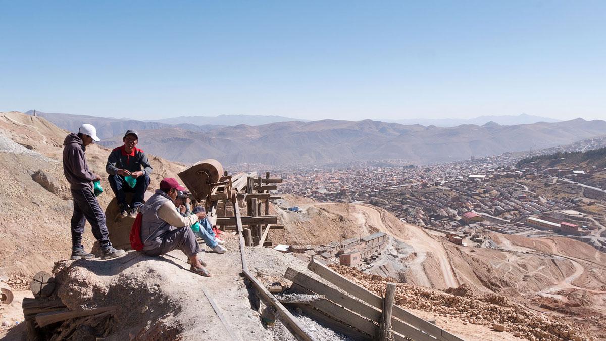 Bolivie Potosi Mineurs