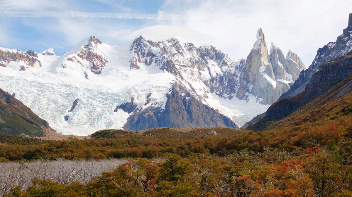 El Chalten Cerro Torre neige
