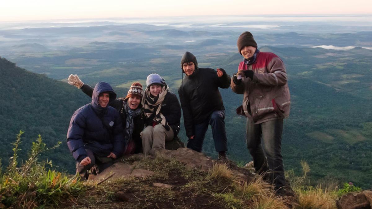 photo groupe sommet Tres Kandu